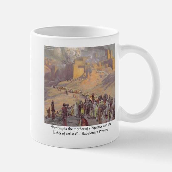 Babylonian Art Proverg Mug