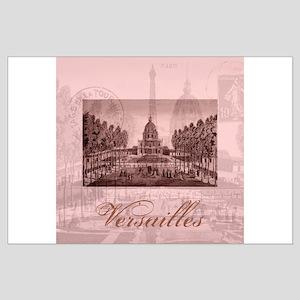 Vintage Chateau de Versailles Large Poster