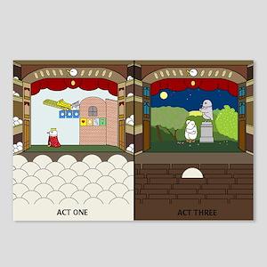 Very Long Opera Postcards (Package of 8)