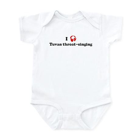Tuvan throat-singing music Infant Bodysuit