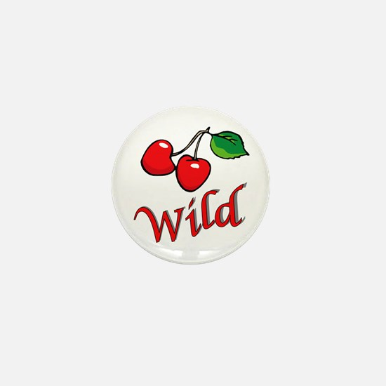 Wild Cherries Mini Button