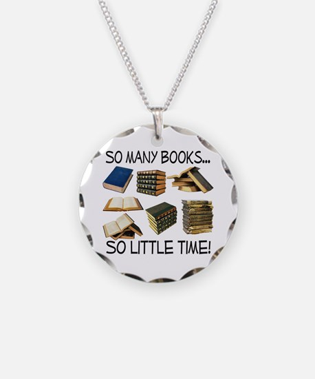 So Many Books... Necklace