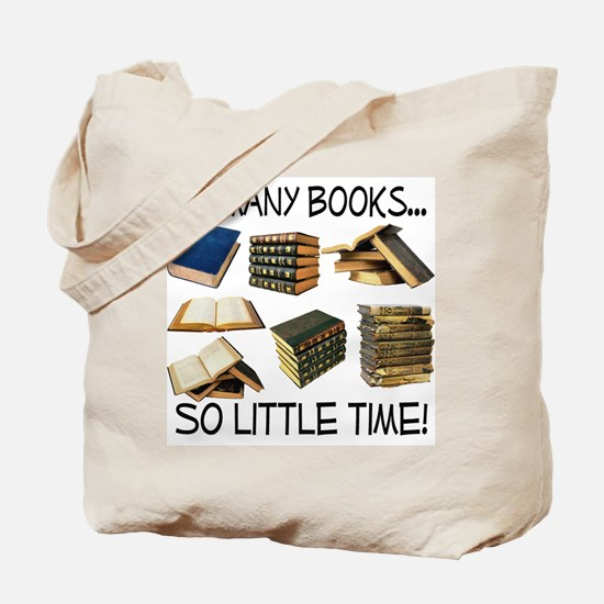 So Many Books... Tote Bag