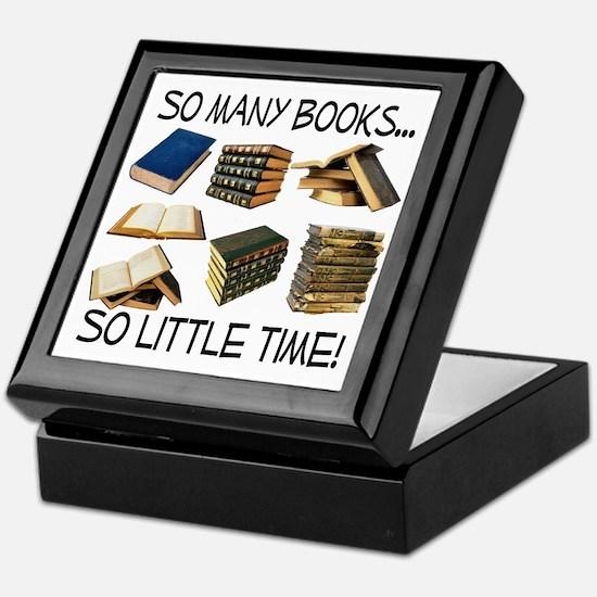 So Many Books... Keepsake Box