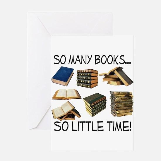 So Many Books... Greeting Card