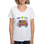 Groovy Van Women's V-Neck T-Shirt