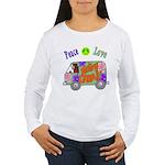 Groovy Van Women's Long Sleeve T-Shirt