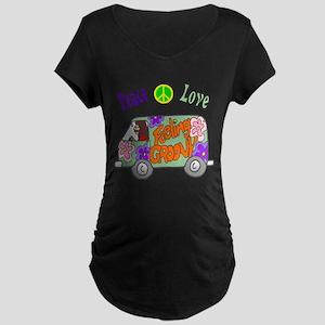 Groovy Van Maternity Dark T-Shirt