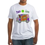 Groovy Van Fitted T-Shirt