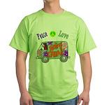 Groovy Van Green T-Shirt
