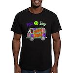 Groovy Van Men's Fitted T-Shirt (dark)
