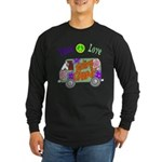 Groovy Van Long Sleeve Dark T-Shirt
