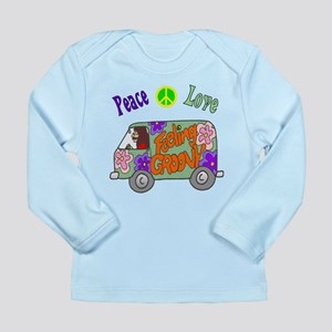 Groovy Van Long Sleeve Infant T-Shirt