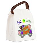 Groovy Van Canvas Lunch Bag
