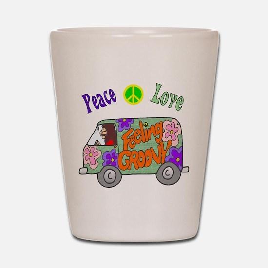 Groovy Van Shot Glass