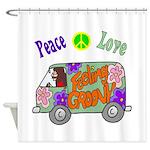 Groovy Van Shower Curtain