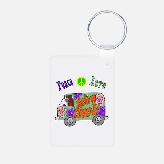 Groovy Van Keychains