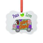 Groovy Van Picture Ornament