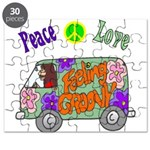 Groovy Van Puzzle
