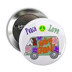 "Groovy Van 2.25"" Button (10 pack)"