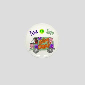 Groovy Van Mini Button