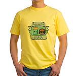 Burger and Fries BFFs Yellow T-Shirt