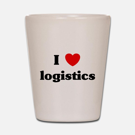 Cute Logistics Shot Glass