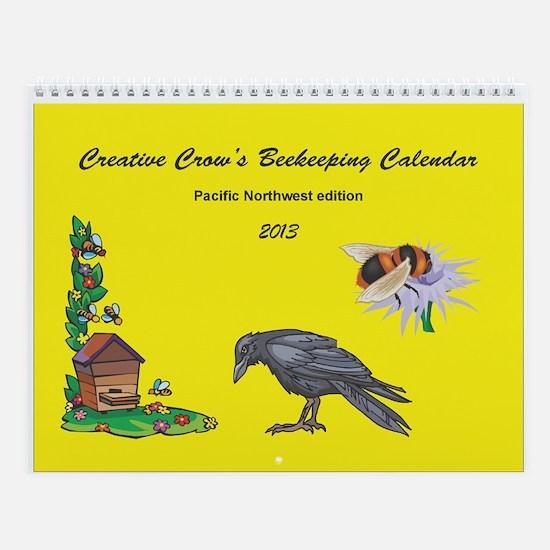 2013 Beekeeping Calendar Wall Calendar