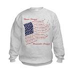 Veterans Memorial USA Kids Sweatshirt