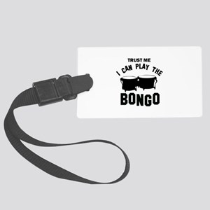 Cool Bongo designs Large Luggage Tag
