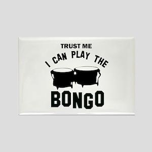 Cool Bongo designs Rectangle Magnet