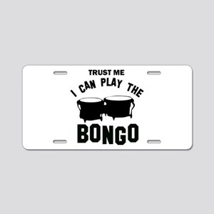 Cool Bongo designs Aluminum License Plate