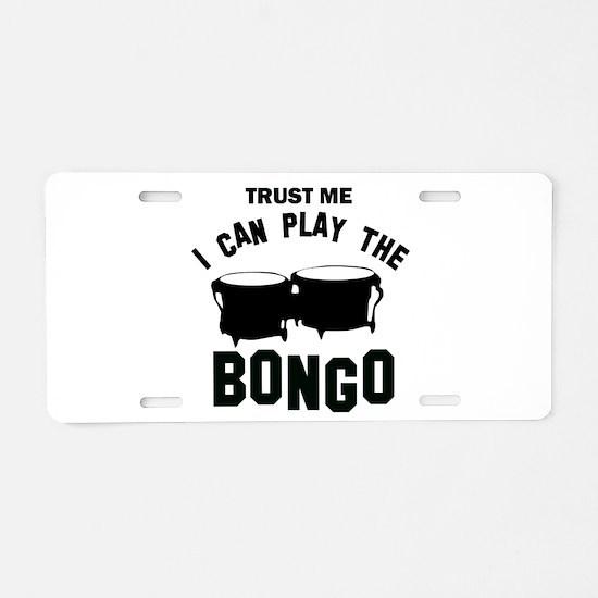 Cool Bongo designs Aluminum License Plate