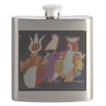 3 Egyptian Guardians Flask