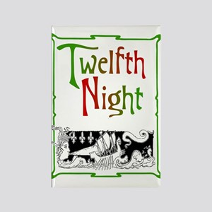 Twelfth Night Rectangle Magnet