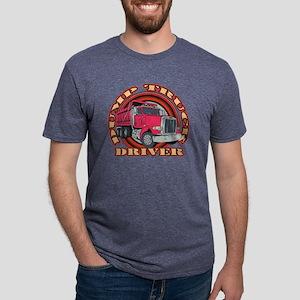 dump-truck-center-2 Mens Tri-blend T-Shirt