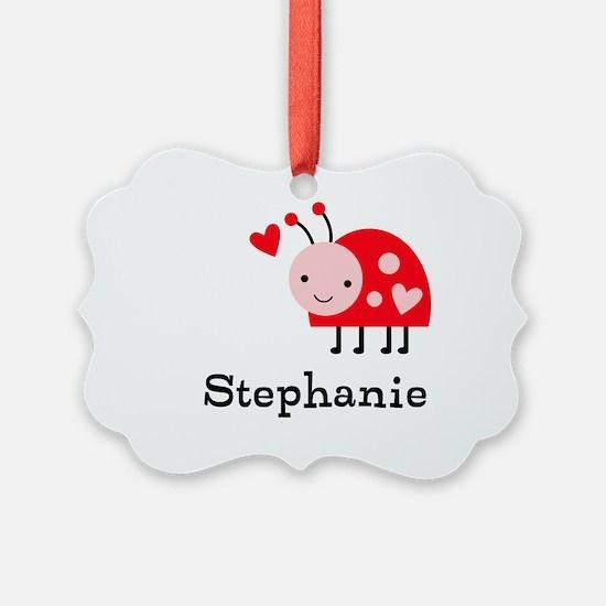 Ladybug (p) Ornament