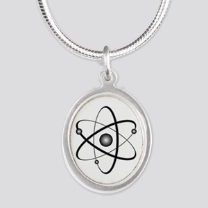 10x10_apparel_Atom Silver Oval Necklace