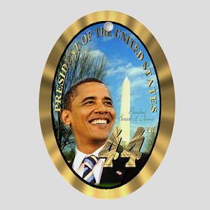 President Obama's Ornament (Oval)