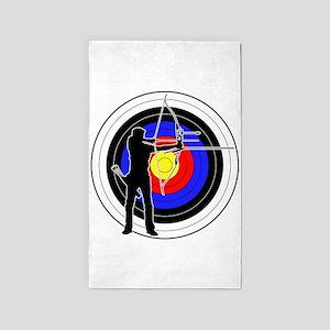 Archery & target 01 3'x5' Area Rug