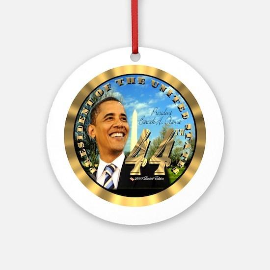 President Obama's 44th Ornament (Round)