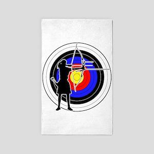 Archery & target 02 3'x5' Area Rug