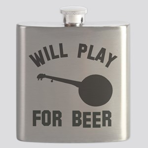 Will play the Banjo for beer Flask