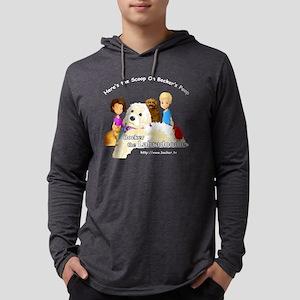 Bocker the Labradoodle Animation Mens Hooded Shirt