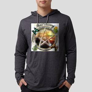 HARMONY-PENTACLE LG Mens Hooded Shirt
