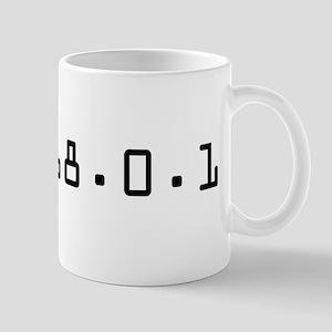 192.168.0.1 - Common LAN IP Address Mug