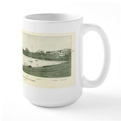 Wychmere Harbor 1910 Large Mug