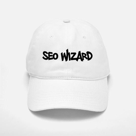 SEO Wizard - Search Engine Optimization Baseball Baseball Cap