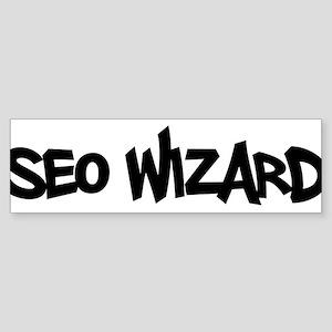 SEO Wizard - Search Engine Optimization Sticker (B