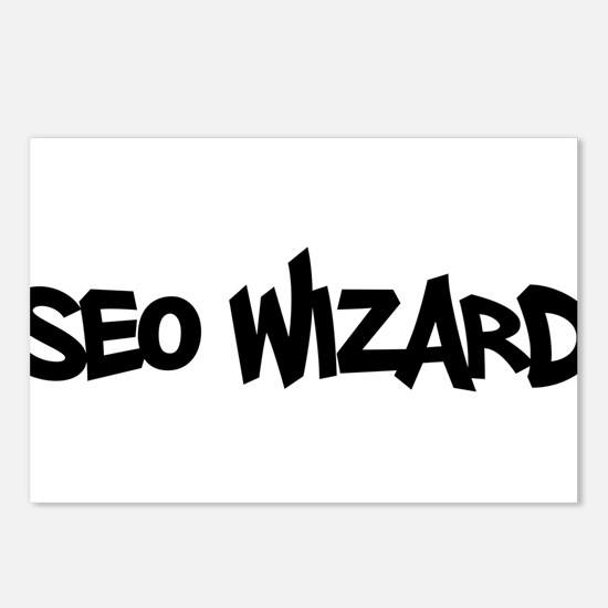 SEO Wizard - Search Engine Optimization Postcards